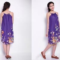 Đầm Maxi Yếm Hoa YKD1571