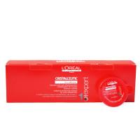 Bộ Đặc trị phục hồi tóc nhuộm LOréal Cristalceutic Masque 15 x 15ml