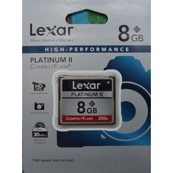Thẻ nhớ CF 08GB Lexar