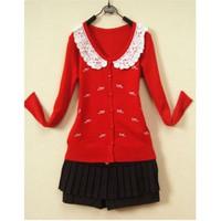 Áo khoác len nữ kiểu Hàn Quốc E 521