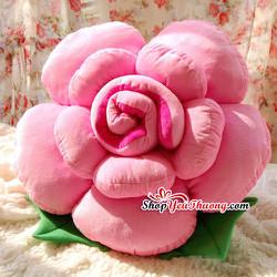 Gối hoa hồng 60cm dành cho ngày 8-3 yêu thương