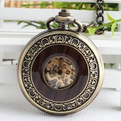 Đồng hồ quả quýt lên cót Vân Gỗ