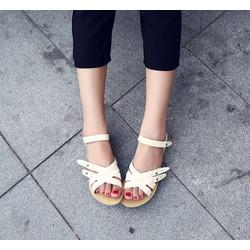 Giày sandals chiến binh chéo dây