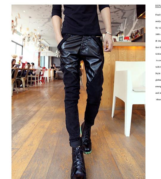 Quần jeans nam phối da Mã: ND0321 1