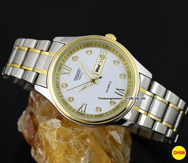 Đồng hồ nam cao cấp sang trọng Swidu Swi-069 chống thấm, chống xước 5