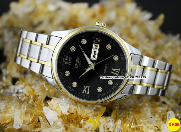Đồng hồ nam cao cấp sang trọng Swidu Swi-069 chống thấm, chống xước 4
