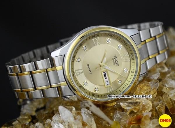 Đồng hồ nam cao cấp sang trọng Swidu Swi-069 chống thấm, chống xước 7