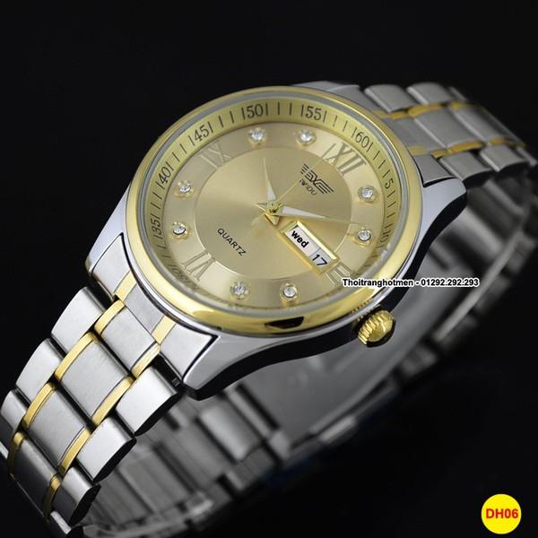 Đồng hồ nam cao cấp sang trọng Swidu Swi-069 chống thấm, chống xước 8