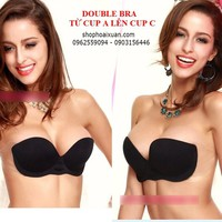 Áo lót double bra từ cup A lên cup C hiệu Vstylebra - XKA001