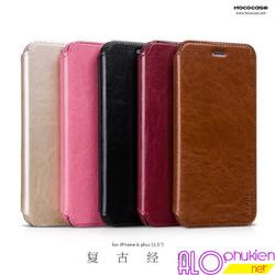 Bao da iphone 6 plus hiệu Hoco