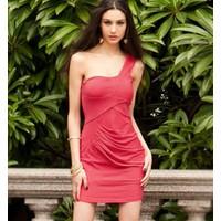 Váy đầm nữ lệch vai D 136