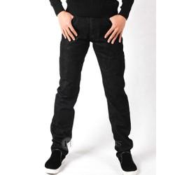 Quần jeans ống đứng đen tuyền PT7201