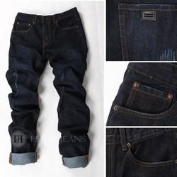 Hằng Jeans quần jeans nam mài xước nhẹ PT6009