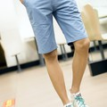 Quần kaki nam shrot kaki vải đẹp màu xanh trẻ trung, năng động