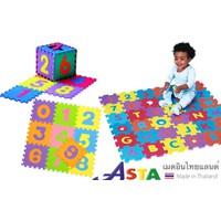 DZ4123 - Bộ 10 miếng thảm ghép lót sàn hình chữ số cho bé