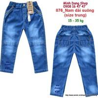 Quần jean cho bé từ 15 - 35kg