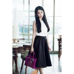 Váy Vinatage Cao Cấp Ngọc Trinh,Hàng Về Thêm Màu Đỏ Đô.