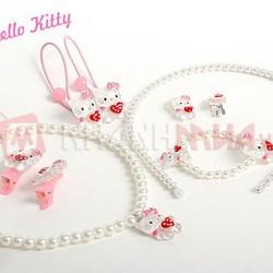 Bộ trang sức Hello Kitty 9 món