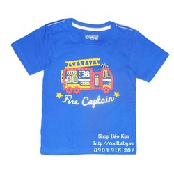 Áo thun cotton xe cứu hỏa