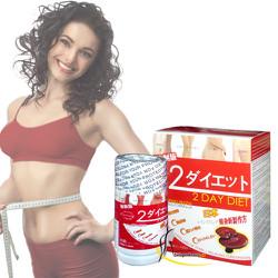 2 DAY DIET - Viên uống Giảm Cân Từ Nhật Bản