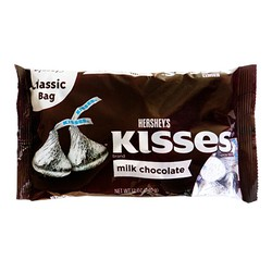 Chocolate Hershey Kisses Milk Chocolate 340gr