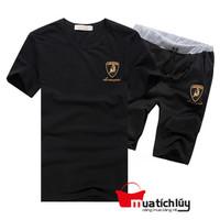 MTL - Set trang phục: Áo và Quần BD44 - Đen