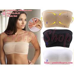 AL010 - Áo ngực dạng ống Bandeau Bra mút đệm ngực