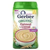 Bột Ăn dặm Gerber Organic Vị Yến Mạch 227gr