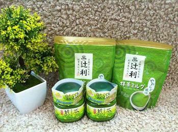 Bột trà xanh Matcha nguyên chất 48gr Nhật 1