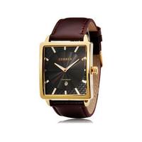 Đồng hồ CURREN nam da vuông thời trang-TACR006