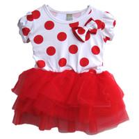 Đầm noel đỏ đính nơ AB017 BEVADOCHOi