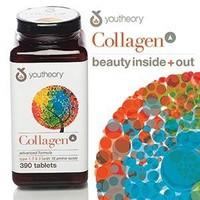 Collagen Youtheory Type 1 2  3 390 viên của Mỹ