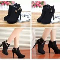 Giày boot cực style cho cô nàng cá tính GBST001