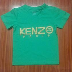 Áo Kenzo thun mịn xanh lá