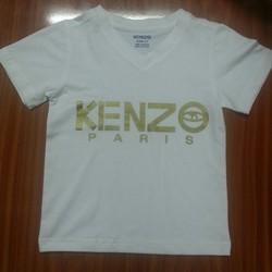 Áo Kenzo thun mịn trắng