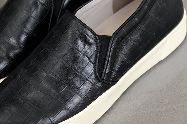 Giày bệt nữ- Giày slip on - Giày slip-on da rắn chất da bóng đẹp 3
