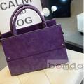 Túi xách nữ da lộn thời trang Bomdo- TX06-2