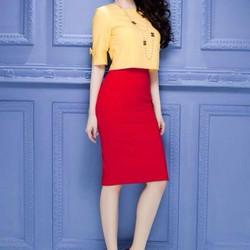 Chân váy ôm đẹp kiểu dáng đơn giản sành điệu