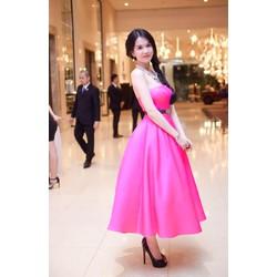 Đầm xòe công chúa dễ thương như Ngọc Trinh đi tiệc sang trọng