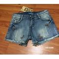 Quần jean nữ ngắn cao cấp Blue Winner #0298