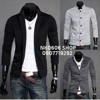 NK0606 - Áo khoác Cardigan Hàn Quốc Dệt Kim - Màu Đen - CA20
