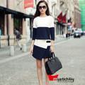 Set trang phục: Áo tay lỡ + Chân váy