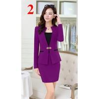 Bộ set áo vest + chân váy - S22114