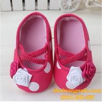 Giày tập đi bé gái G414