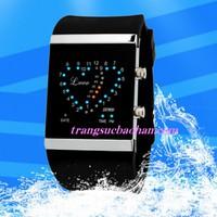 Đồng hồ Led SK980 đôi trái tim yêu thương, chống thấm nước