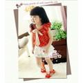 Đầm Chấm Bi Váy Ren