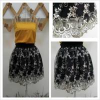 Set Chân váy ren kết hợp áo ống