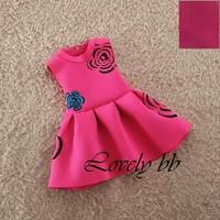 Đầm In Hoa hồng size đại
