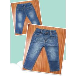 Quần jeans co giãn wax sọc bụi bụi