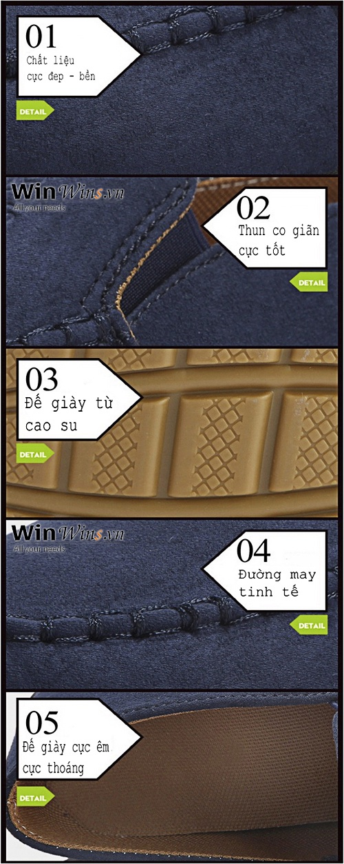 Giày Mọi ZA06 Thời Trang 7